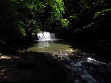 Blue Hole Falls and Swimming Hole