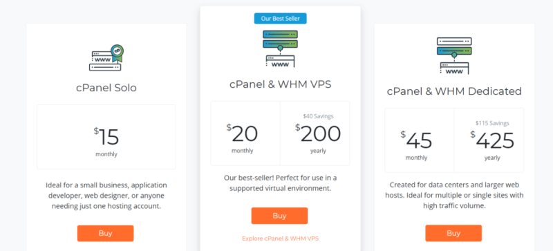 cPanel Price Increased
