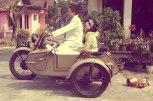Bride Groom Wedding Vintage Ariel Motorcycle Magelang Images