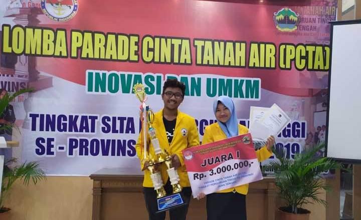 2 Mahasiswa Untidar Wakili JATENG Lomba Cinta Tanah Air Nasional