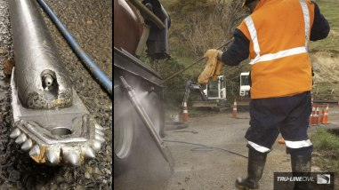 Horizontal Directional Drilling, Tru-Line Civil, Akaroa, documentary, photography, Akaroa Water Supply Stage 3, Reticulation Upgrade