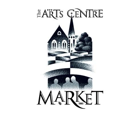 The Arts Centre Market logo. Brands for New Zealand companies, Christchurch, New Zealand.