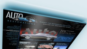 Introducing the new 'Muscle Cars' section on the homepage in the Automotive Dreams banner slideshow