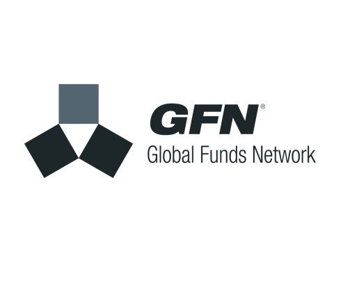"""GFN: Global Funds Network logo. The first instance of a """"Fifth Web: Federated Commerce"""" trading federation, set up in Australia to enable Federated trading between stakeholders in the 'unit trusts' segment of the share trading market. Brands for New Zealand / International businesses, Australia."""