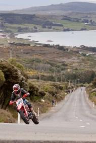Bluff HIll Climb, Corner 5, Honda CR 600, Jason Feaver, Motupohue, New Zealand, NZ Hill Climb Champs, Rider 12, Up to 600cc