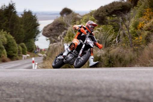 Bluff HIll Climb, Casey Bullock, Motupohue, New Zealand, Bluff Promotions NZ Hill Climb Champs, KTM SMR 450, Rider 427, Up to 600cc, Burt Munro Challenge 2015,10 year Anniversary event, Thursday 26 November 2016
