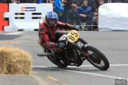 BSA Goldstar 500, Classic Motorcycle Racing, Classic Pre '63, Graham Peters, Invercargill, Invercargill Street Races, Rider 85, Street Races