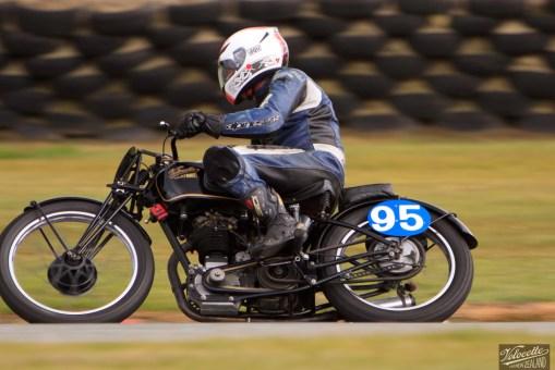 Burt Munro Challenge, Classic Pre '63 with Girder Forks, Teretonga Circuit races, Velocette