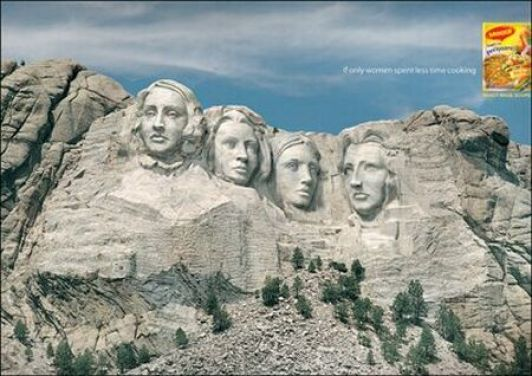 To Put Someone's Face on Mount Rushmore