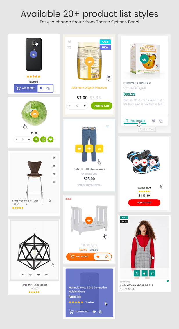 Infinit - Magento 2 & 1.9 Product List Styles