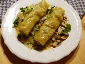 gedämpfte cannelloni