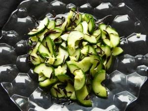 gurkensalat mit wakame