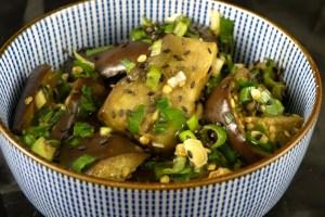 aubergine-mit-sesam