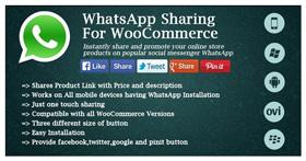 WhatsApp Sharing For WooCommerce