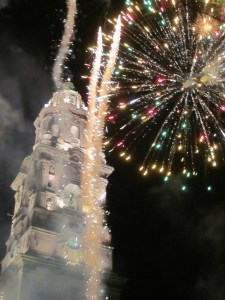 Feux d'artifice à Morelia!