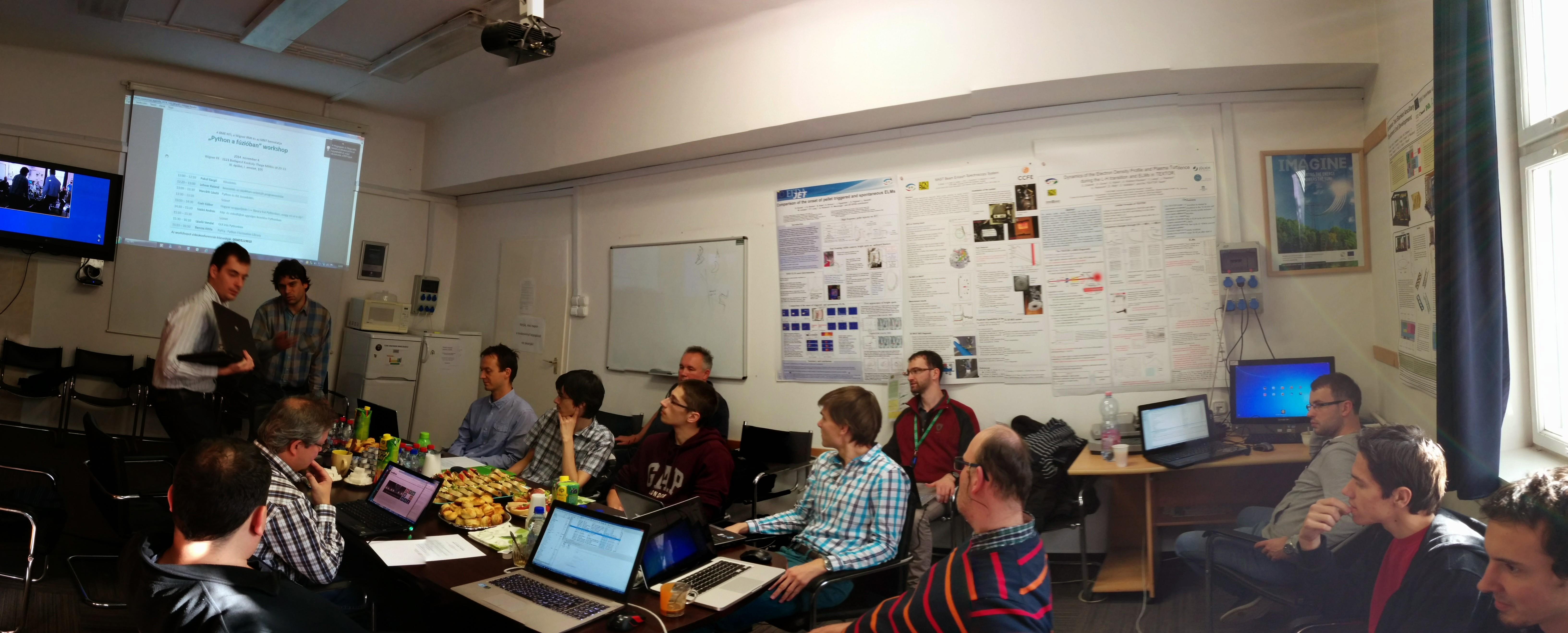 Újabb workshop került megrendezésre Programozás a Fúzióban címmel