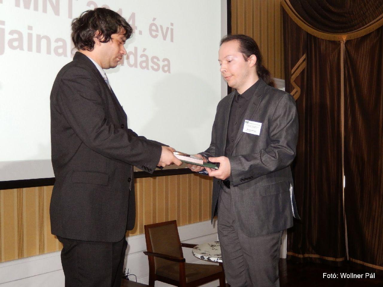 Dr. Pusztai István kapta 2014-ben a Simonyi Károly Díjat