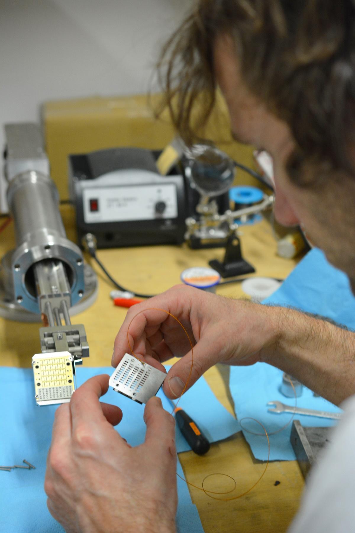 Egyedülálló diagnosztika fejlesztés az MTA Wigner Fizikai Kutatóközpontban