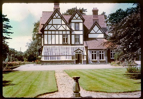 Park House, where I grew up