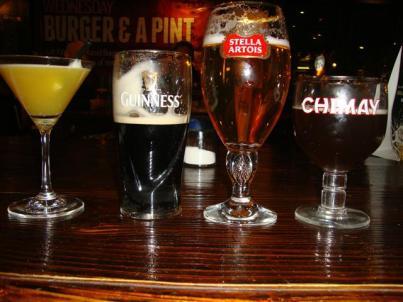SHANGHAI- sara, maggie, alicia, and jenny's drinks!
