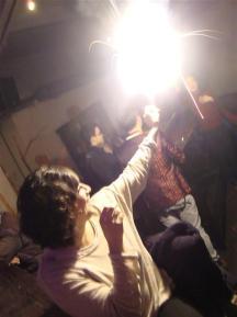 SHANGHAI- lighting her sparkler too