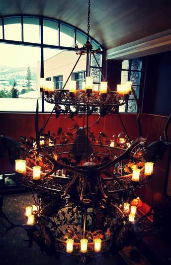 Nothing beats a #antler #chandelier