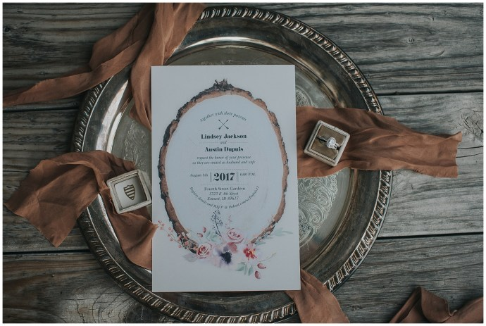 Boho Backyard Boise Idaho wedding