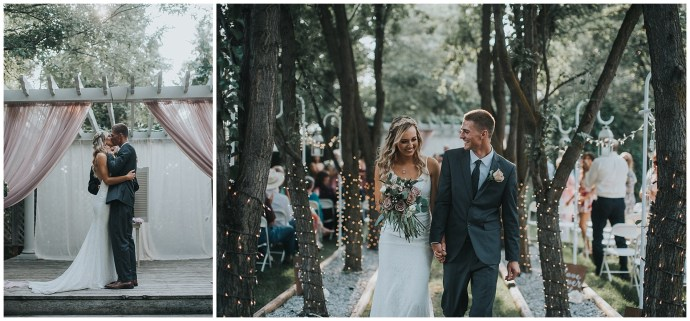 Boho Elegant Fourth Street Gardens Wedding Boise Idaho