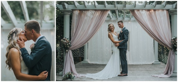 Boho Elegant Fourth Street Gardens Wedding