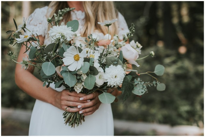 Boho Wedding Rust and Thistle Boise Idaho