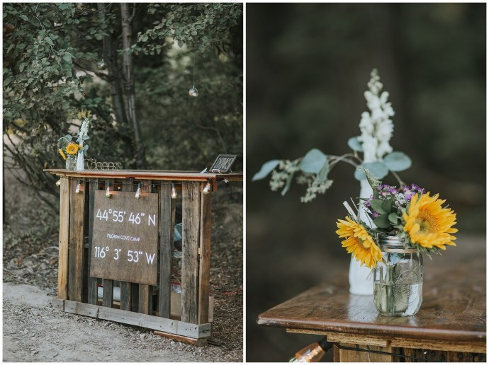 Boho Fall Wedding in McCall Idaho