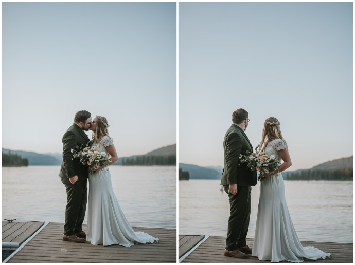 Payette Lake McCall Idaho Wedding