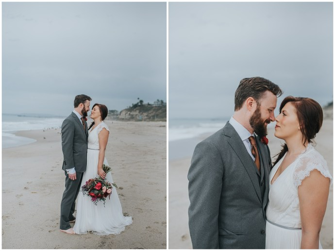Intimate Boho California Wedding