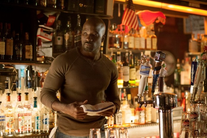 Luke Cage - mild-mannered bar-owner