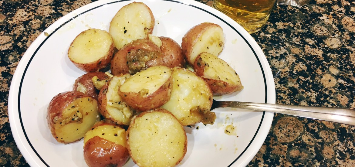 Potatoes, with a side of Cider