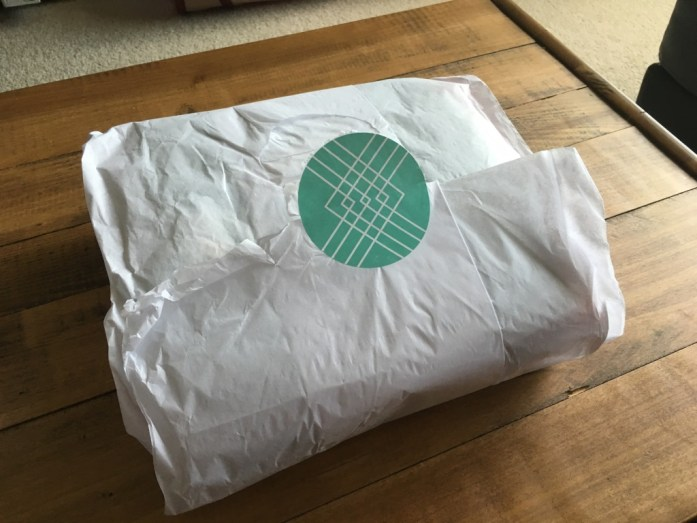 Stitch Fix clothes wrapped in paper