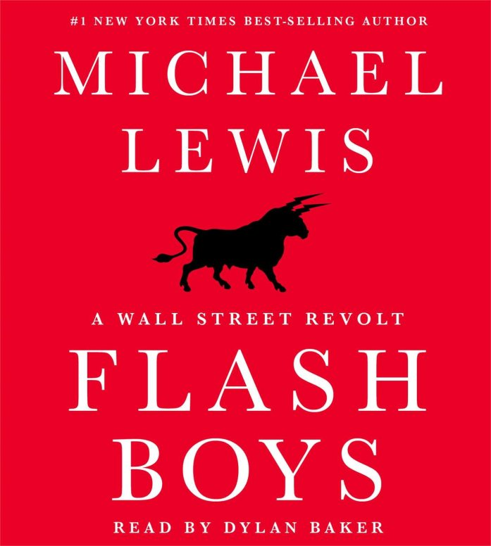 Flash Boys audiobook cover