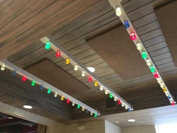 Joy Room Hanks Pasta Bar ceiling
