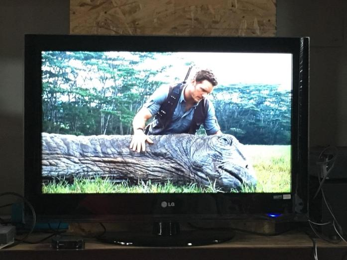 Photo of my TV - Jurassic World