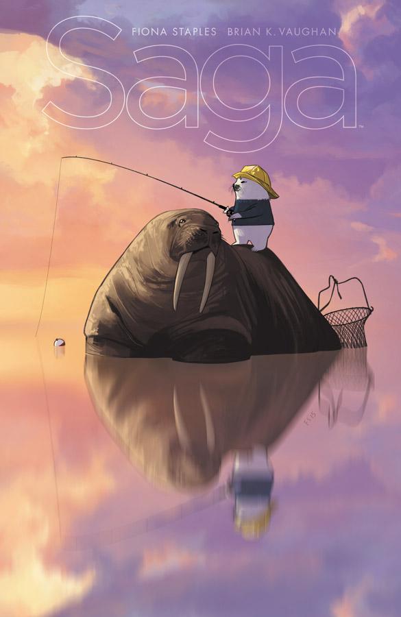 Saga Issue 34 Cover
