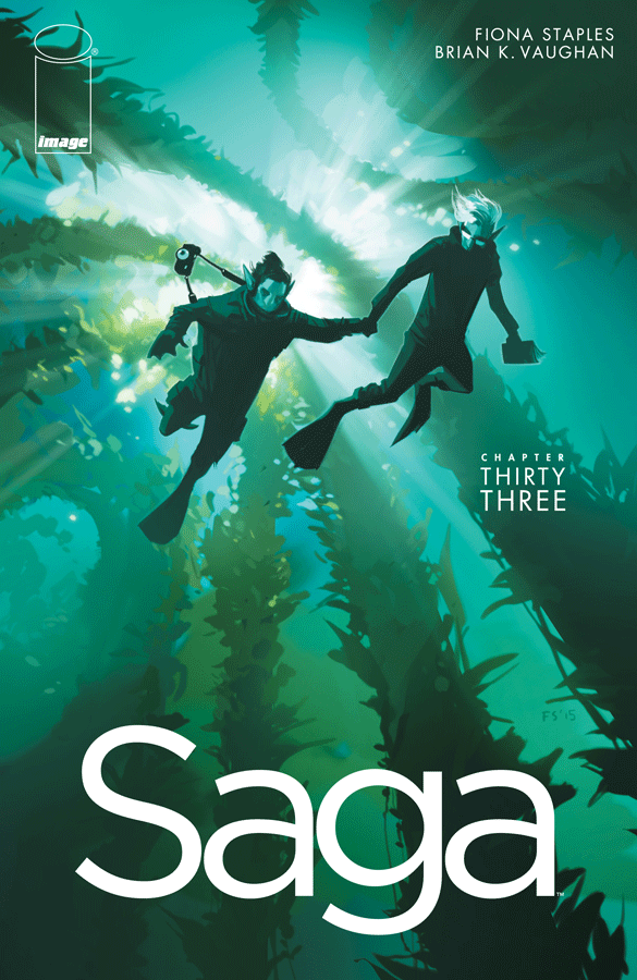 Saga Issue 33 Cover