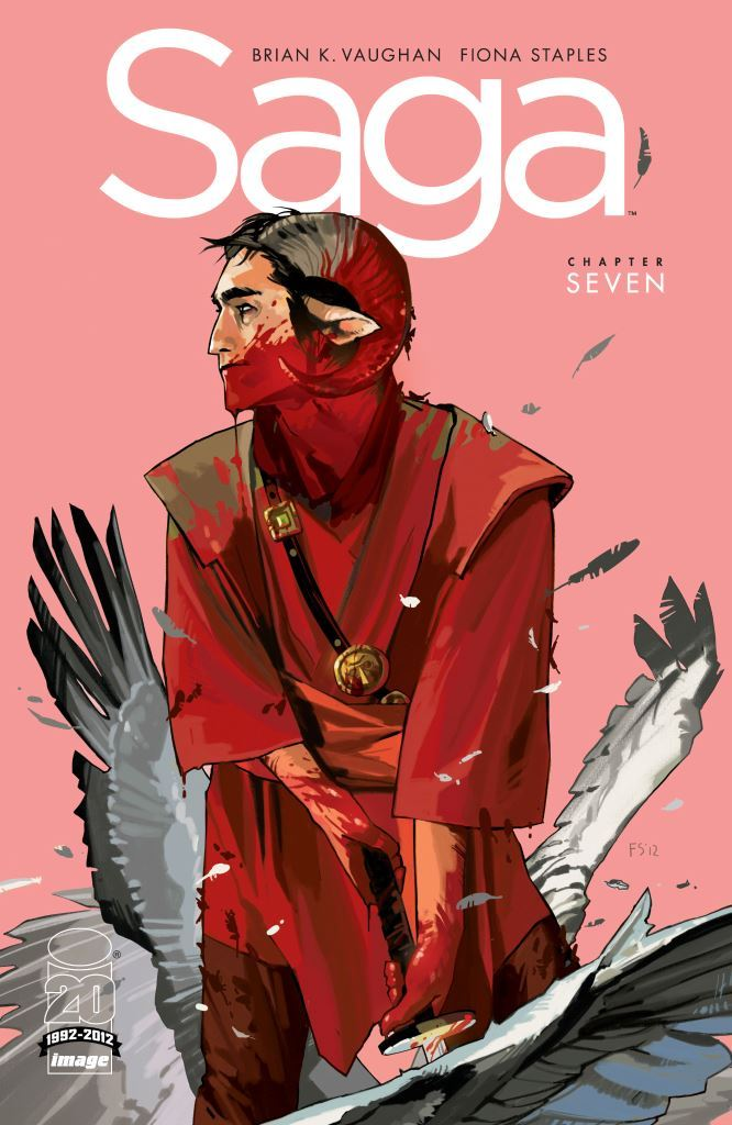 Saga Issue 7 Cover