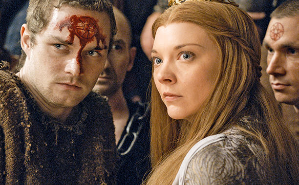 Loras and Margaery Tyrell await their fate