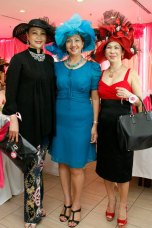 Maggie Loo with Ace Tang, Founder & CEO of Big Orange Media and Amee Philips, Founder of Amee Philips Jewellery Sdn Bhd