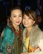 Maggie Loo with Winnie Loo, Founder and Creative Director of A Cut Above Chain of Salons and Academy