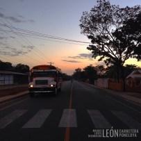Calle Poneloya León Nicaragua