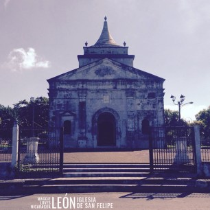 Iglesia de San Felipe León Nicaragua