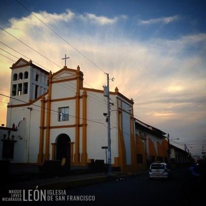 Iglesia San Francisco León Nicaragua