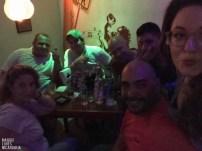Rosella, Frederico, Rodolfo, Josef, Noel, Tocino und ich