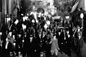 Frankenstein - angry mob